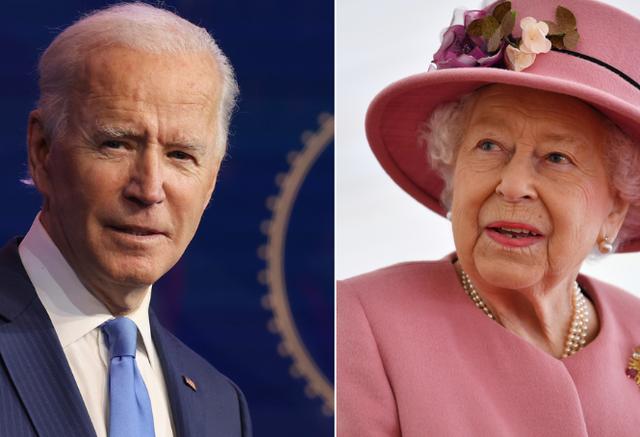 Biden, presidenti i 13 amerikan që takohet me mbretëreshën