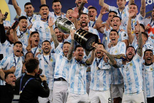 Messi fiton kupën e Amerikës me ekipin e Argjentinës!