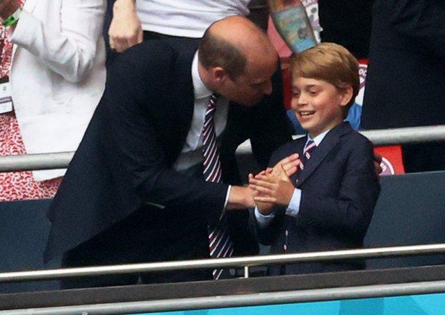 Finalja e Euro 2020, prince George në stadium për të