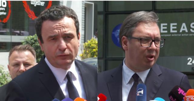 Përfundon takimi Kurti - Vuçiç/ Kurti: Serbia