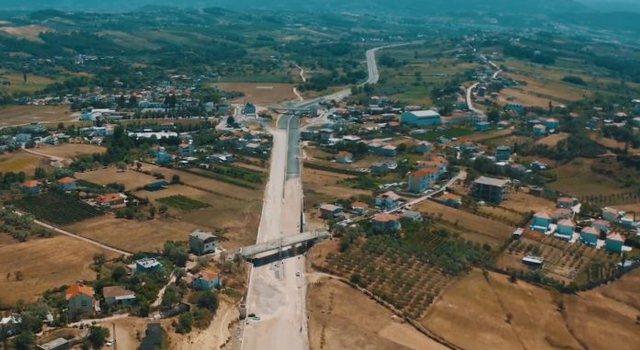 Unaza e madhe e Tiranës, përfundon 90 % e projektit në