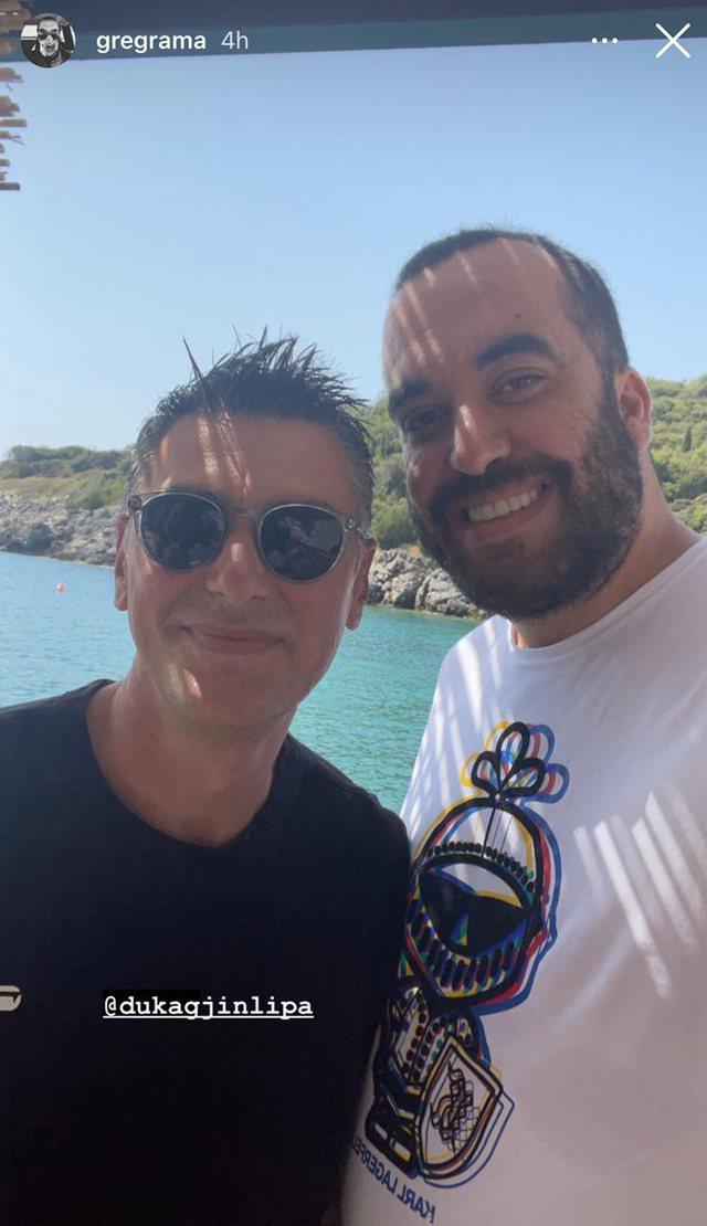 Foto/ Dua Lipa me Greg Ramën në Kep Merli