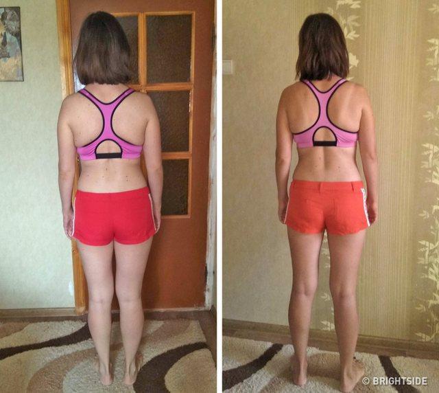 Karina, vajza që humbi 9 kilogramë vetëm në 4 javë.