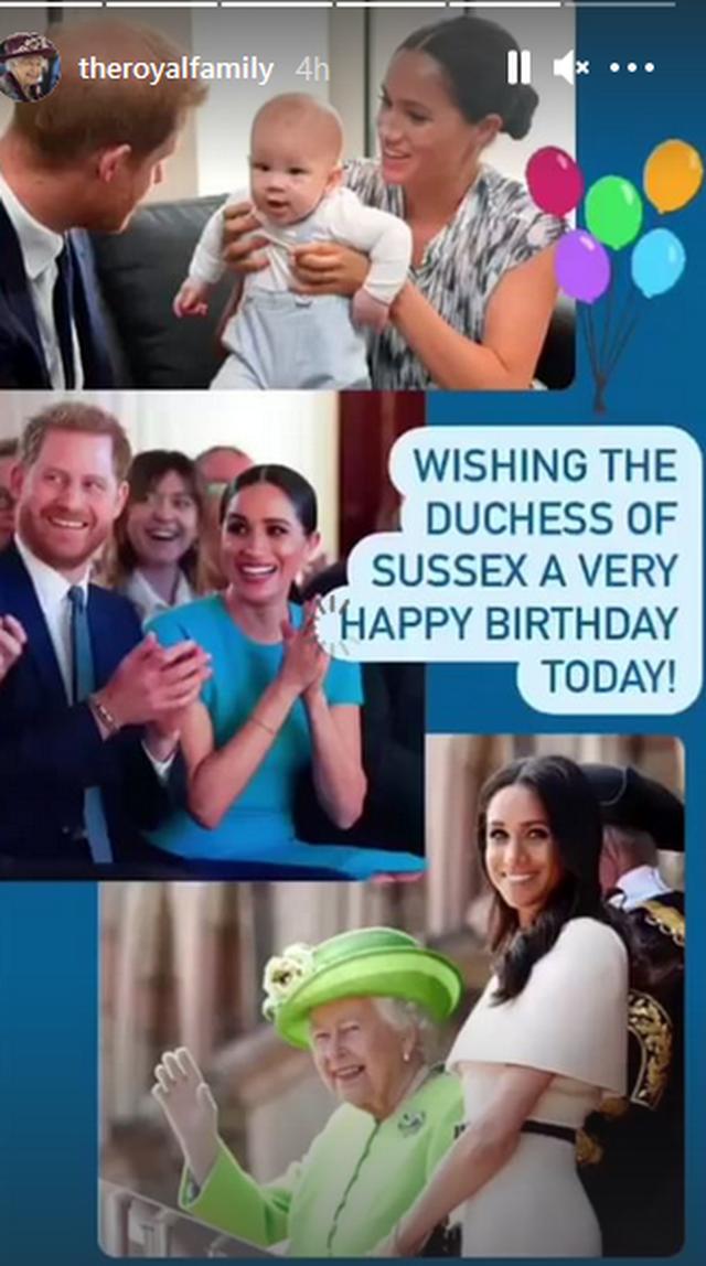 Meghan Markle feston 40-vjetorin dhe Familja Mbretërore bëri urimin e