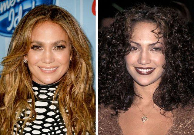 Këto foto të zonjave të famshme na kujtuan ngjyrën e tyre