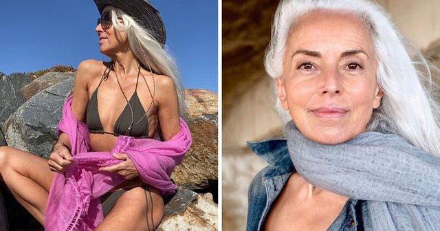 Sekreti i linjave perfekte të modeles 65-vjeçare!