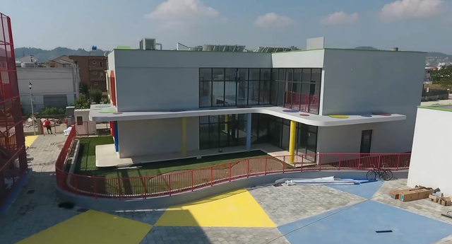 """Shkolla """"Dom Nikollë Kaçorri""""/ Rama:Hapësira pa"""