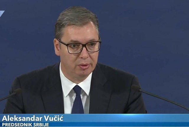 Reciprociteti për targat me Serbinë, Vuçiç