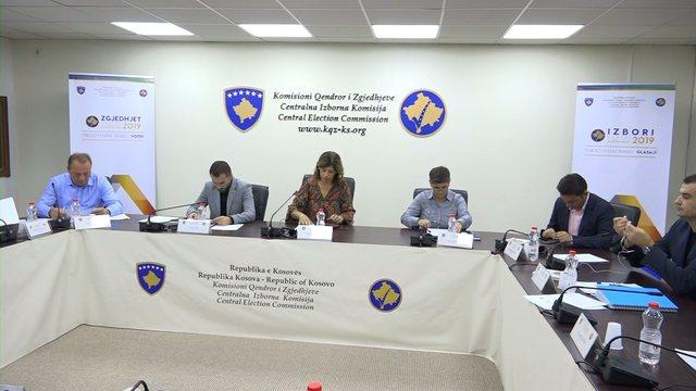 Zgjedhjet lokale në Kosovë, KQZ: Komisionet dhe vëzhguesit duhet