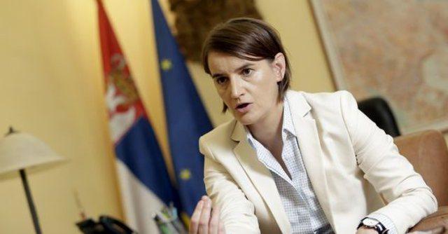 Kryeministrja e Serbisë: Ndërkombëtarë, frenoni
