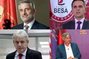 Partitë shqiptare në Maqedoninë e Veriut vendosin bashkimin: