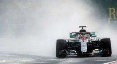 Çmimi i Austrisë/ Hamilton fluturon në shi e fiton pole