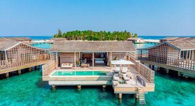 Brenda resorit super luksoz në Maldive, 38 mijë paund vetëm