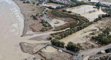 """I gjithi nën ujë, pamje """"apokaliptike"""" nga qyteti grek"""