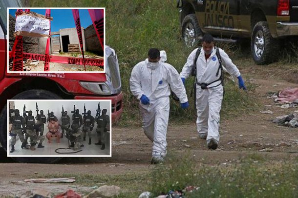 FOTO/ Masakra e kartelit mizor të drogës,  zbulohet varri masiv me 113