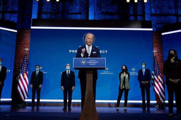 Joe Biden shpall zyrtarisht emrat e anëtarëve të parë