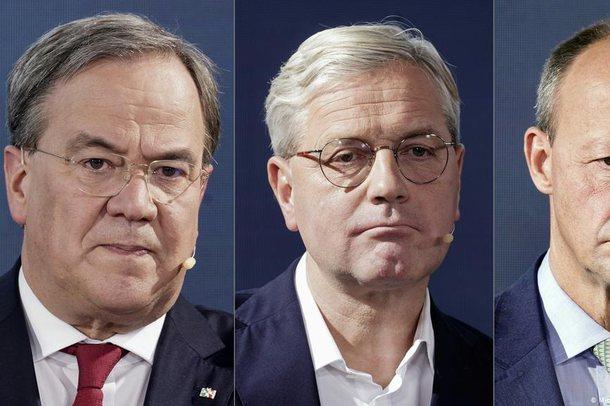 Profil/ Gara në CDU, tre burrat që garojnë për postin gruas