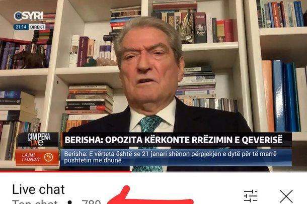 Mjerimi i Sali Berishës, nuk ndiqet në media edhe kur flet për