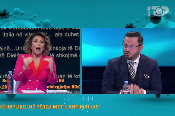 """""""Po del nga binarët""""/ Eni Vasili i kthehet Ndrecës: Mos"""