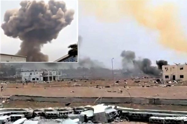 VIDEO/ Shpërthimi i dinamitit shkatërron thuajse gjithë qytetin,