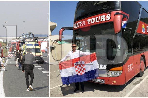 (Foto) Aksidenti tragjik në Kroaci/ 13 fëmijë në abutobus,