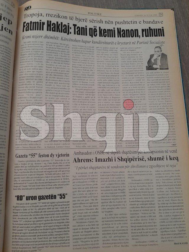 Zylfie Haklaj nxjerr artikullin: Berisha, pas 21 vitesh e vërtetoi se