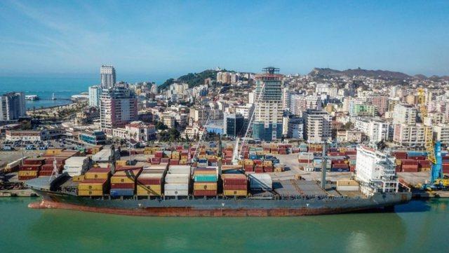 Qarkullimi i mallrave rritet me 16 për qind në Portin e Durrësit