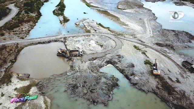 Fadromat gërryejnë lumin Shkumbin, shteti mbush sirtarët me