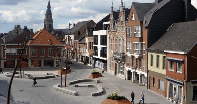 Qyteti i vogël në Europë shndërrohet në