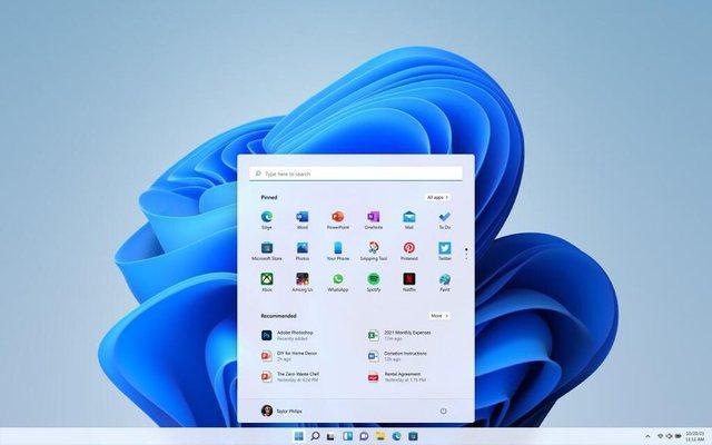 I thjesht, i shpejt dhe falas, Microsoft prezanton Windows 11