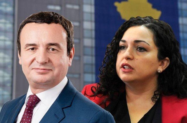 Albin Kurti dhe Vjosa Osmani zbulojnë sloganin për zgjedhjet e 14
