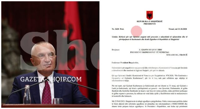 """Letra e Metës në Venecia: """"Harrohet"""" 25 prilli si"""