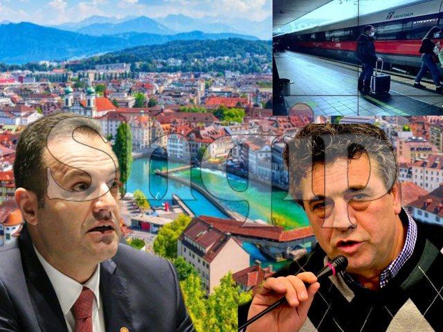 """Me valixhen """"sekrete"""" në duar! Pse Llalla zgjodhi Zvicrën"""