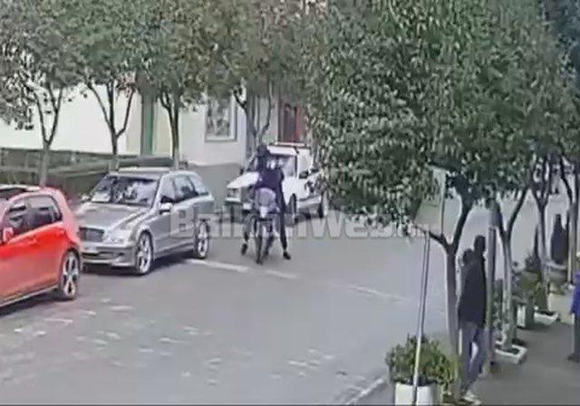 Del video e atentatit në Milot/ Momenti kur autorët me skafandra