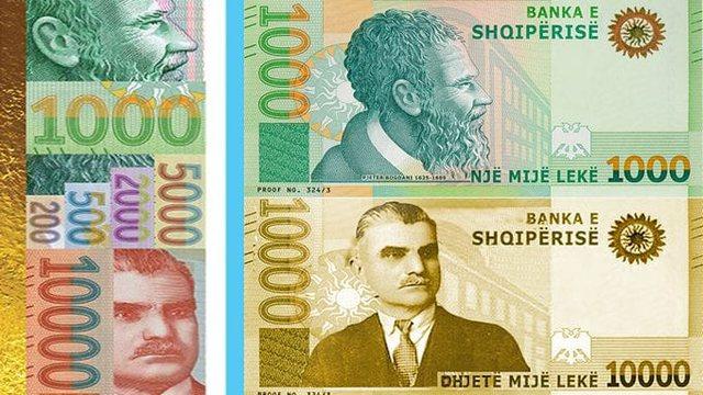 Hidhet në treg kartmonedha 10.000 Lekëshe, ngjyrë e artë me