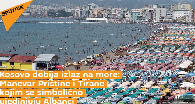 Dhënia e portit të Durrësit për Kosovën nga Rama