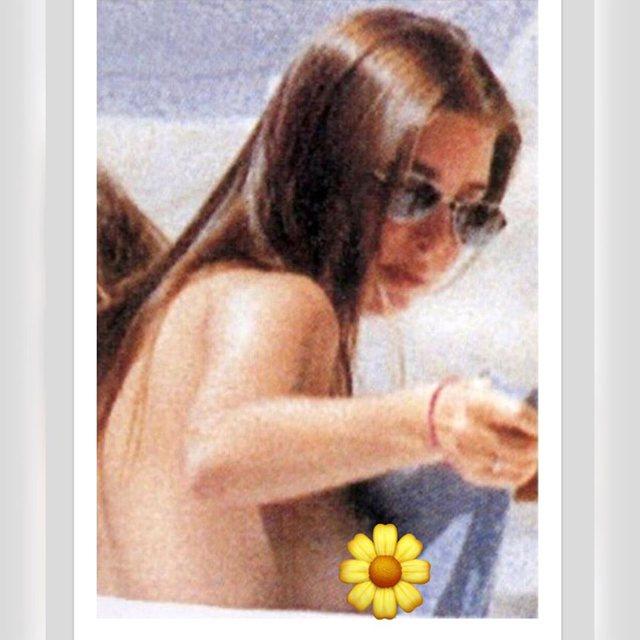 """Si kurrë më parë, dalin fotot """"topless"""" të"""