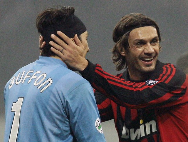 Buffon thyen sot rekordin e ish-legjendës së Milanit, Paolo Maldini