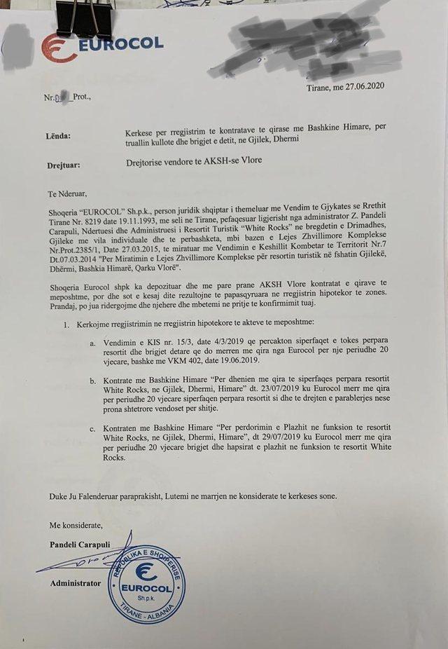 Ekskluzive/ Me dokumenta të falsifikuara, Carapuli kërkon të