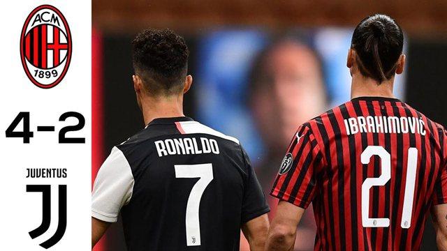 Milani i 'çmendur' përmbyt' Juven, Lazio