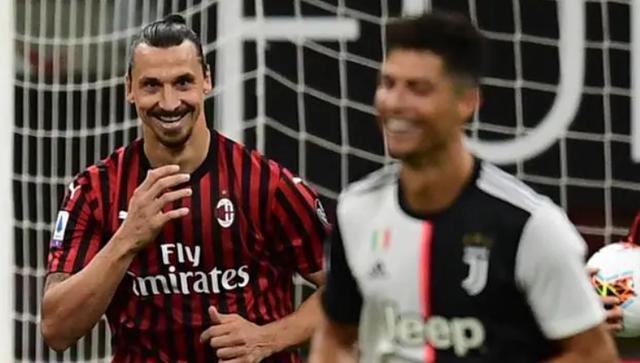 Detaji që nuk u pa, Ibrahimovic i qesh në fytyrë Ronaldos pas