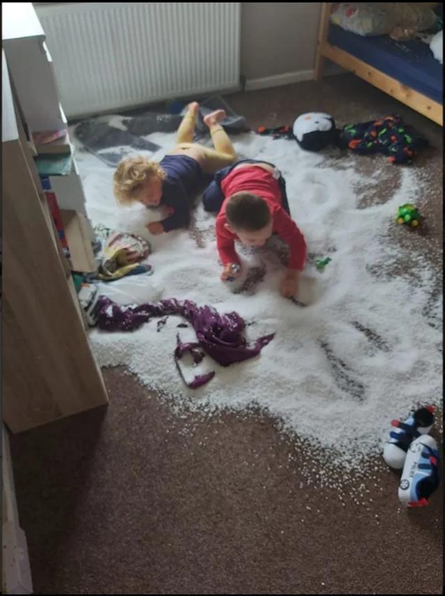 Imazhet qesharake që tregojnë se fëmijët nuk duhen