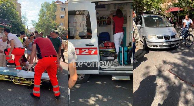 Aksident në zonën e Xhamllikut, automjeti përplas kalimtaren