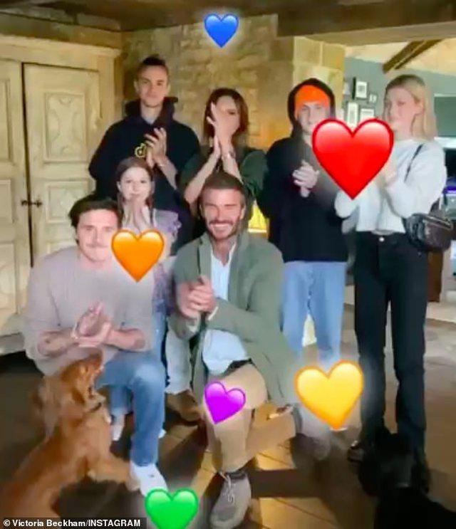 Djali i David dhe Victoria Beckham fejohet me aktoren e njohur, por kanë