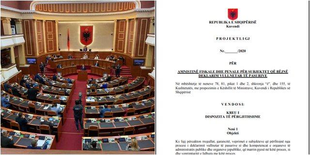 "Amnistia fiskale/ ""Na mbyti Covid"", Qeveria çon me"