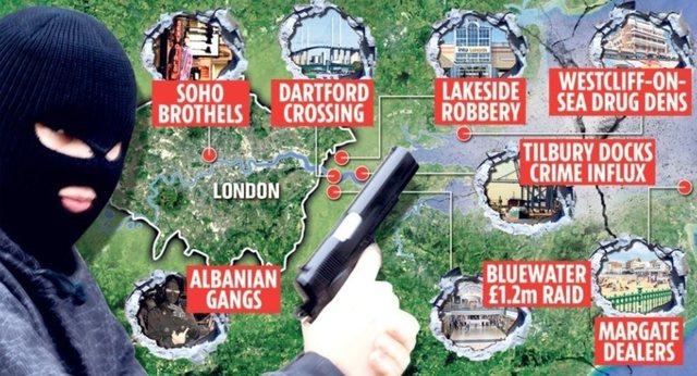 Bandat e shqiptarëve detyrojnë qeverinë britanike të