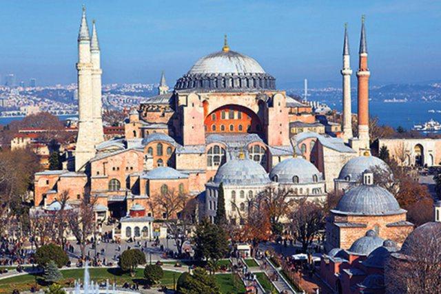 """Nuk ndalen grekët për """"Shën Sofinë"""", pas Erdoganit"""