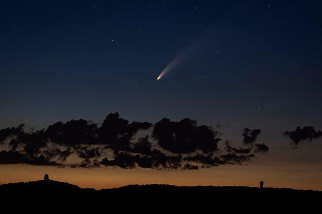 Foto/ Pamje fantastike të kometës që do të kthehet