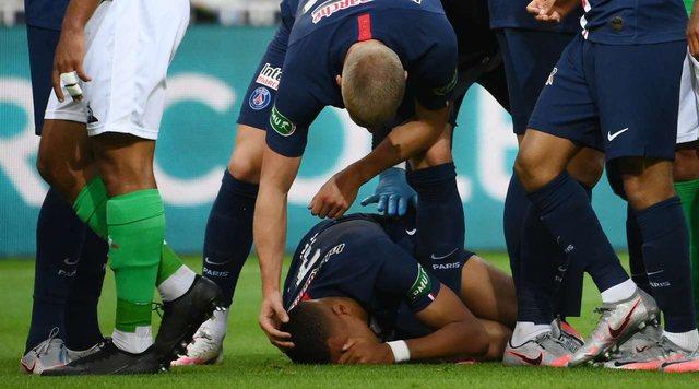 PSG fiton Kupën e Francës, sherr masiv pas dëmtimit horror