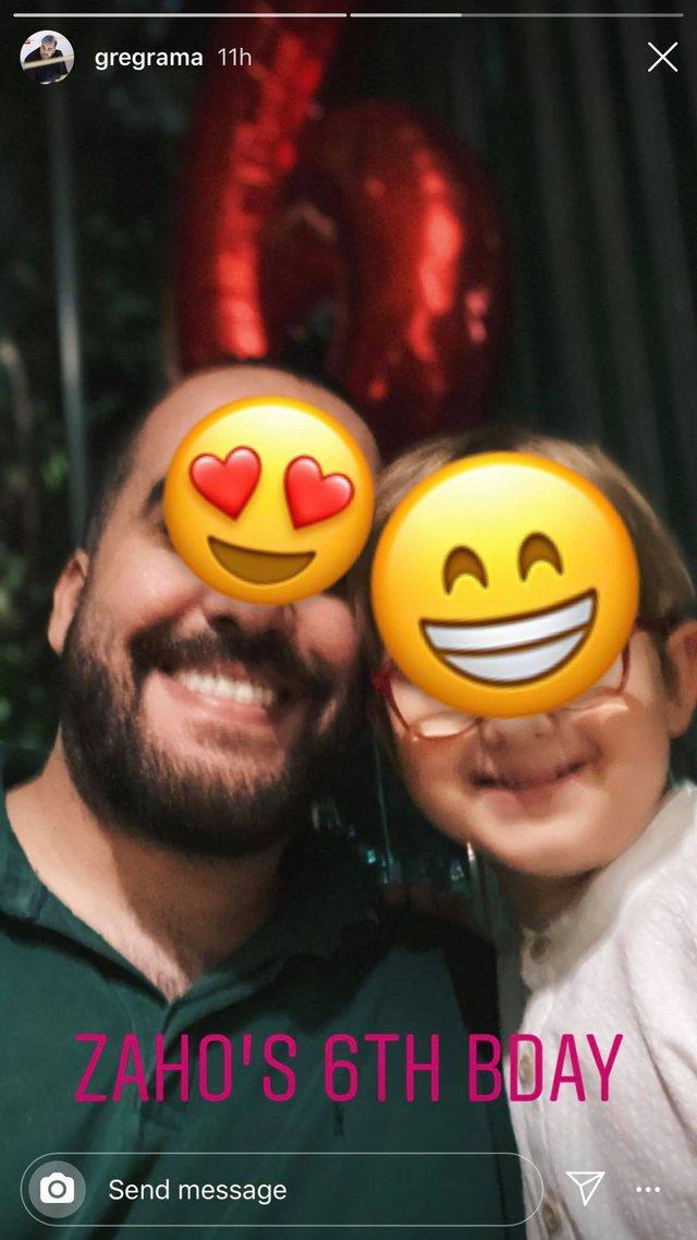 Greg Rama nxjerr pamjet nga ditëlindja e vëllait të vogël